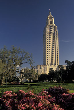 Louisiana State Capitol by Andre Jenny